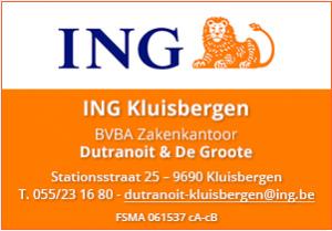 Banner ING Kluisbergen